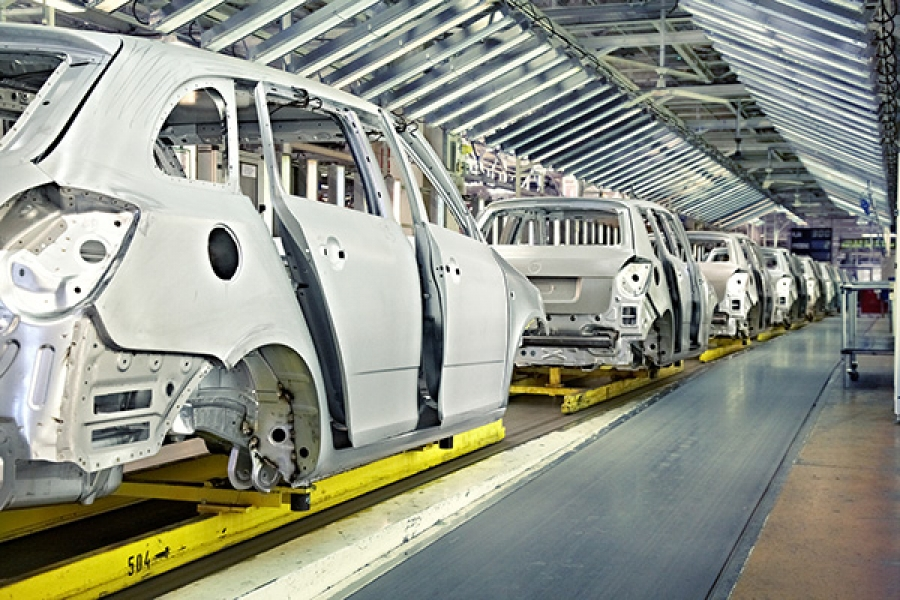 Motor Vehicle Manufacturing for 2004 both Worldwide and in Turkey